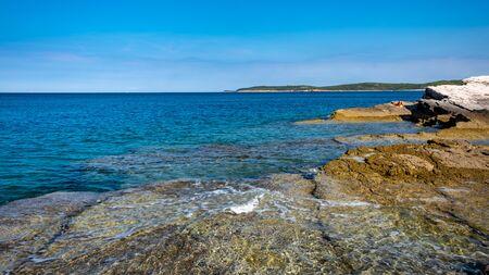 The beautiful sea of Premantura, Croatia