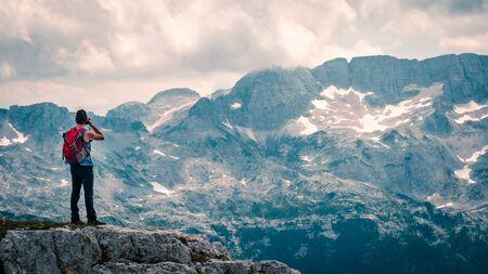 The beautiful alps of the Friuli Venezia-Giulia, perfect for trekking and climbing