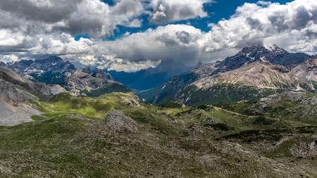 The beautiful Dolomiti in a summer day, Trentino-Alto Adige, Italy