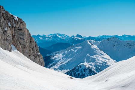 On Creta Chianevate, Carnic alps in a beautiful spring day. Udine province, Friuli-Venezia Giulia region, Italy Imagens