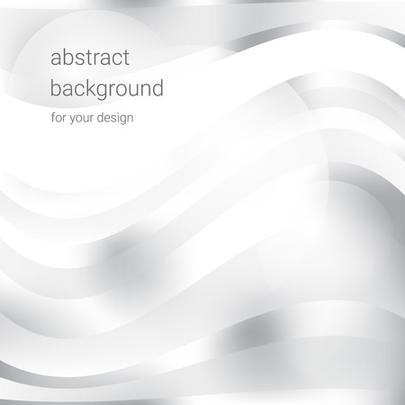 Abstract white and gray color background. Vector illustration