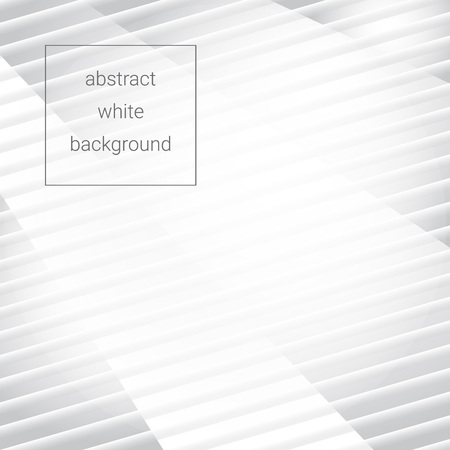 white abstract striped background, vector eps10 illustration Ilustrace