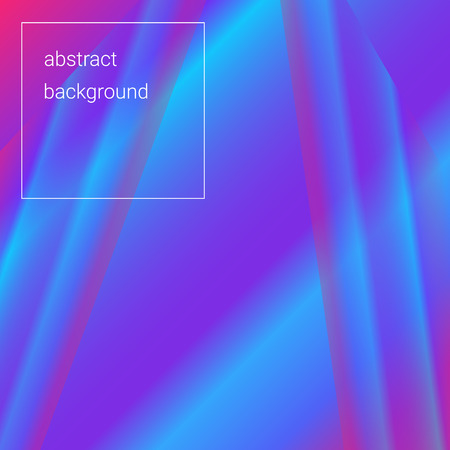 Abstract bright blue-violet background using gradients and transparency