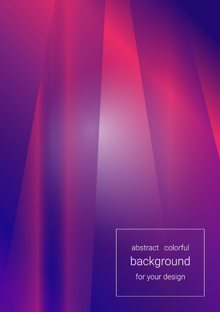 Abstract bright glowing red-blue background using transparent rays and gradient stripes for your design