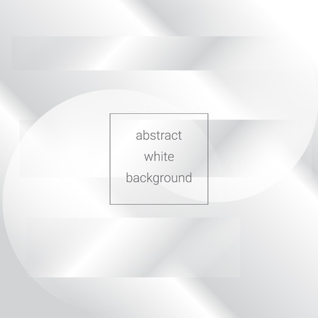 white abstract background with transparent stripes, sphere for your design