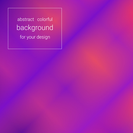 Abstract bright red-blue background using blurry spots for your design. Modern style template for designers.  イラスト・ベクター素材