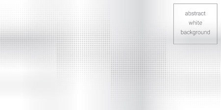 Light white gray abstract background using transparent halftone and gradient spots.