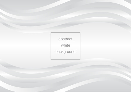 White abstract background using curves, can be used in cover design, book design, poster, cd cover, flyer, website backgrounds