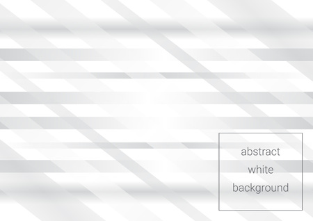 Abstract grey and white tech geometric background using transparent stripes eps 10
