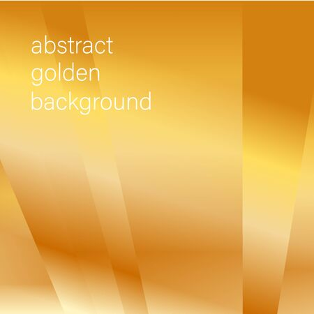golden abstract background with an oblique lines of light for decoration of a decorative card  イラスト・ベクター素材