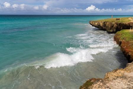 varadero: ocean views with rocky cliffs, Varadero, Cuba