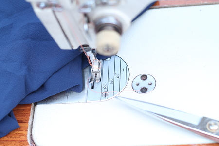 part of the sewing machine