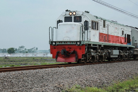 train Stockfoto
