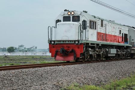 train Foto de archivo