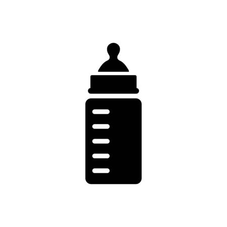 Feeding bottle icon vector trendy