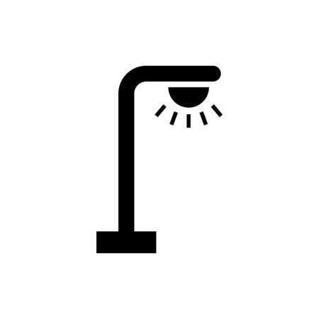 Street lamp icon vector design trendy