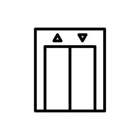 Elevator icon vector design trendy