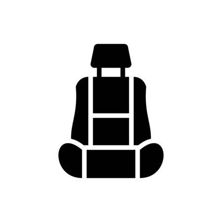 Car seat icon vector design trendy