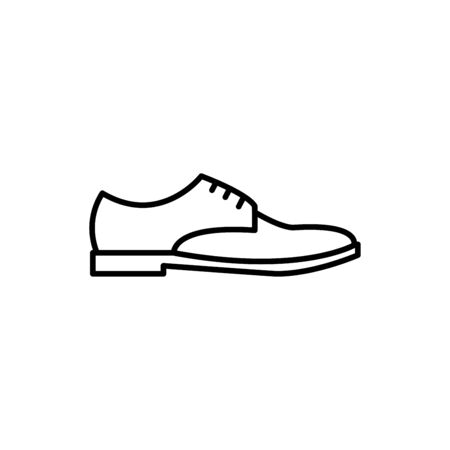 Men shoes icon flat vector template design trendy