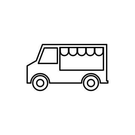 Food truck icon Stockfoto - 147023577