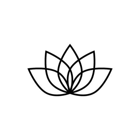 Lotus icon trendy