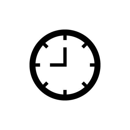 Uhrsymbol trendy