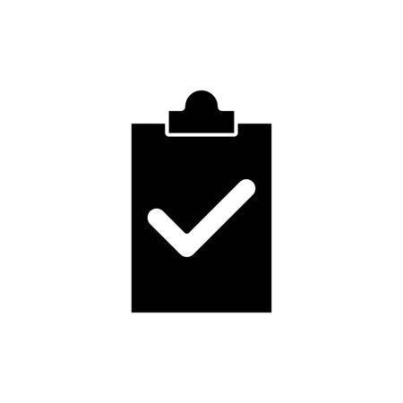 Paper board icon flat vector template design trendy Ilustracja