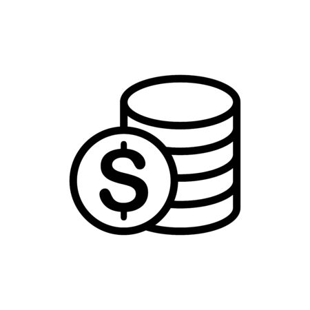 Money currency icon flat vector template design trendy