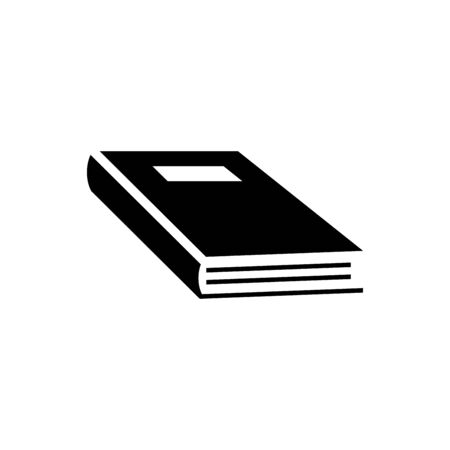Book icon flat vector template design trendy 向量圖像
