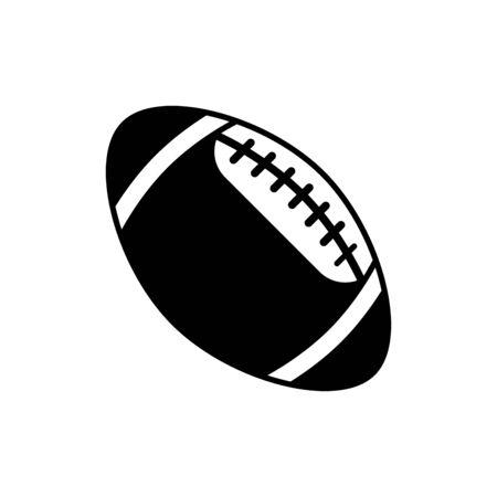 American football icon flat vector template design trendy