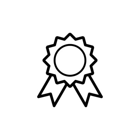 Medallion icon flat vector template design trendy