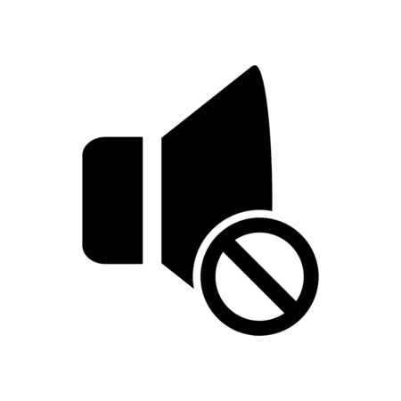 No sound icon flat vector template design trendy 写真素材 - 148746091