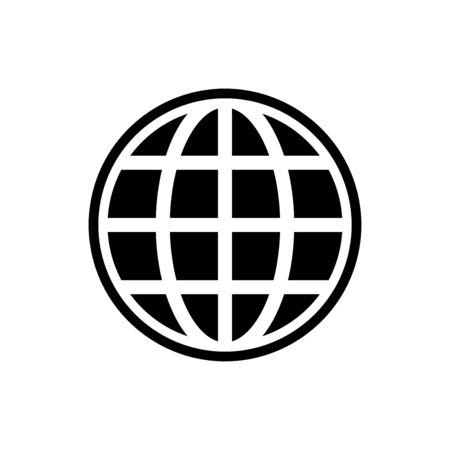Website icon flat vector template design trendy