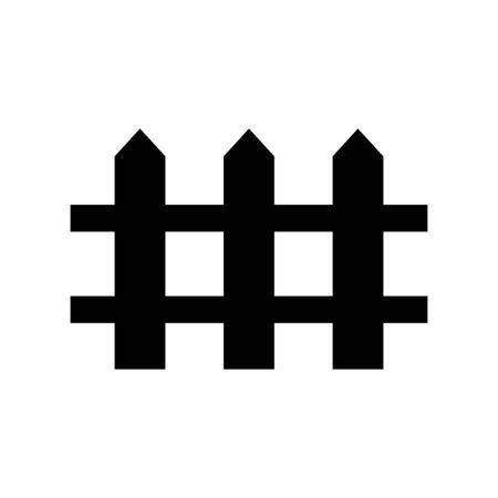 Gate icon flat vector template design trendy