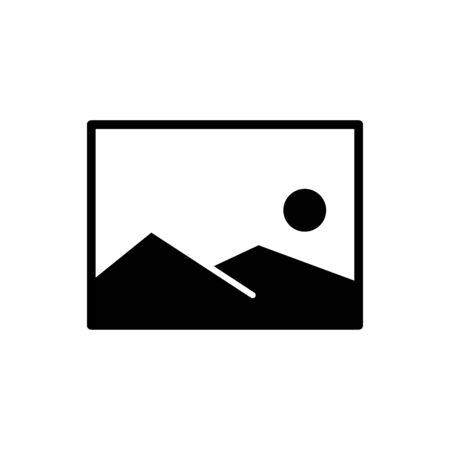 Picture icon vector illustration template design trendy Vettoriali