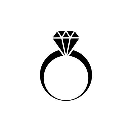 Ring icon vector illustration template design trendy