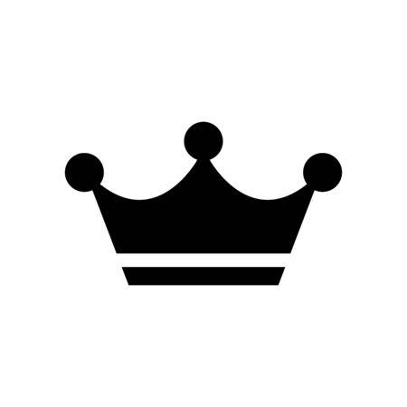 Crown icon vector illustration template design trendy