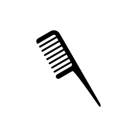 Comb icon flat vector template design trendy