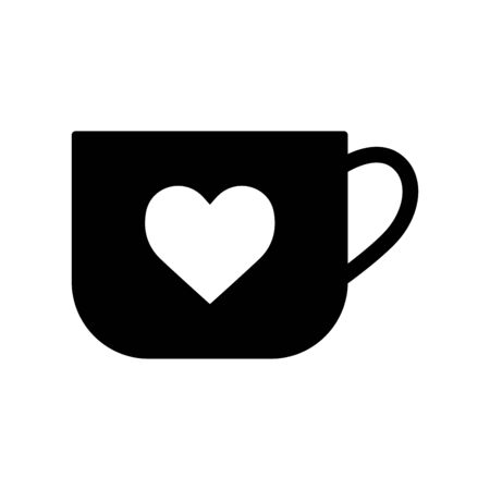 Coffee cup icon flat vector template design trendy 向量圖像