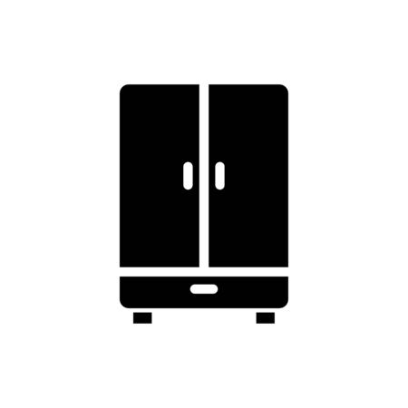 Cupboard icon flat vector template design trendy 向量圖像
