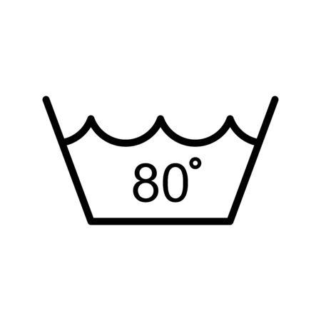 Temperature water icon flat vector template design trendy Archivio Fotografico - 147748314