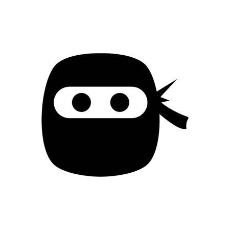 Ninja icon flat vector template design trendy Stok Fotoğraf - 147739953