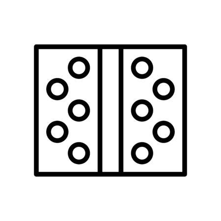 Door hinge icon flat vector template design trendy