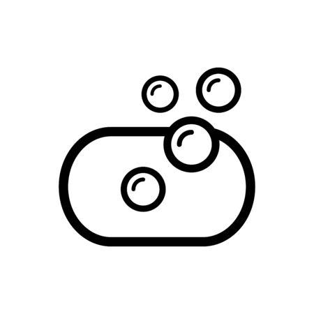 Soap icon flat vector template design trendy 向量圖像