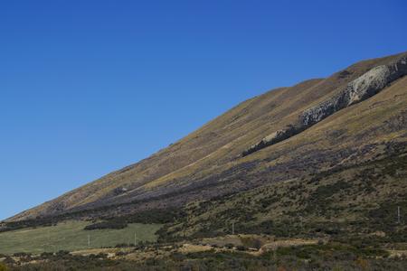 南の島、秋のシーズン中にニュージーランドで美しい景色