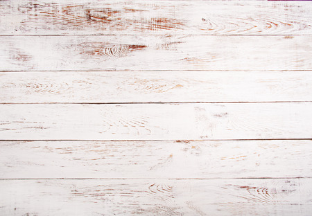 White and brown rustic wood background texture