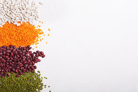 Lentil is a small, flat seed of an annual legume plant.