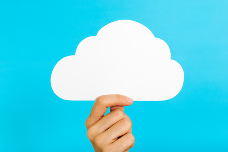 Cloud computing concept Archivio Fotografico