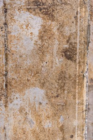 rusty wall. cement or concrete on the construction site. texture or background for the design. copy space