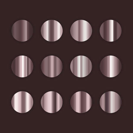 Set of pearl gradient. Pearl colorful palette set. Background template for banner, vector format